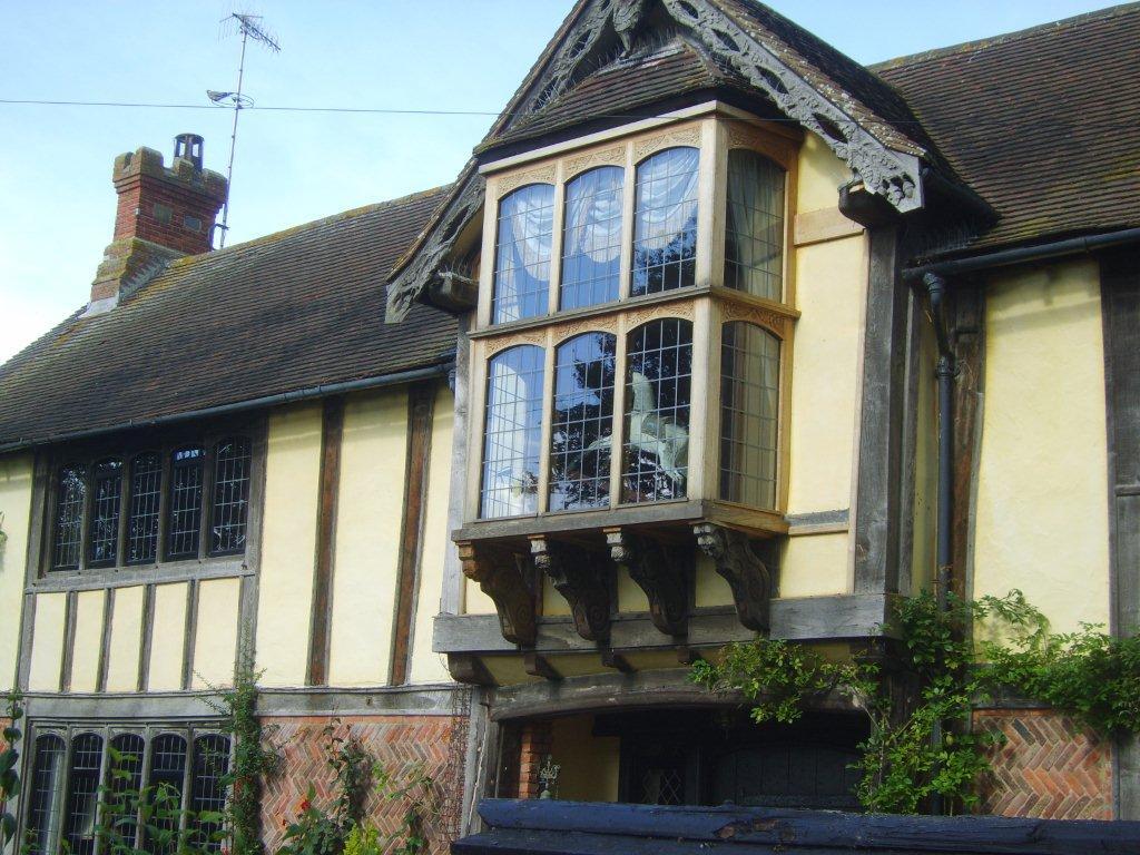 Double Glazed Leaded Light Oak Window