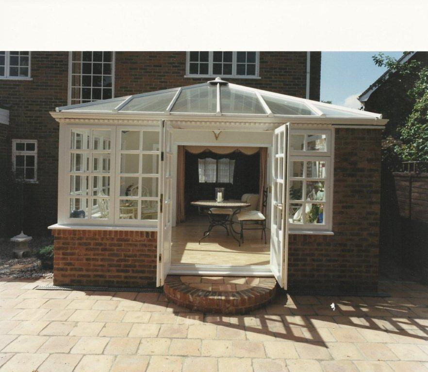 timber conservatory from AA Taylor, Craftsmen Joinery in Brighton & Hove