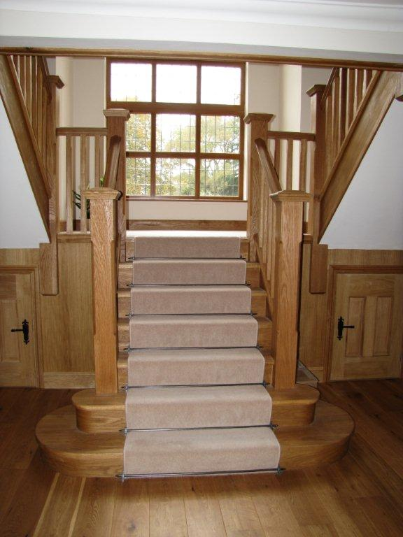 wooden stairs - AA Taylor, Craftsmen Joinery in Brighton & Hove
