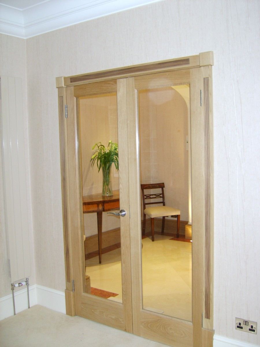 Internal Glazed Ash Doors