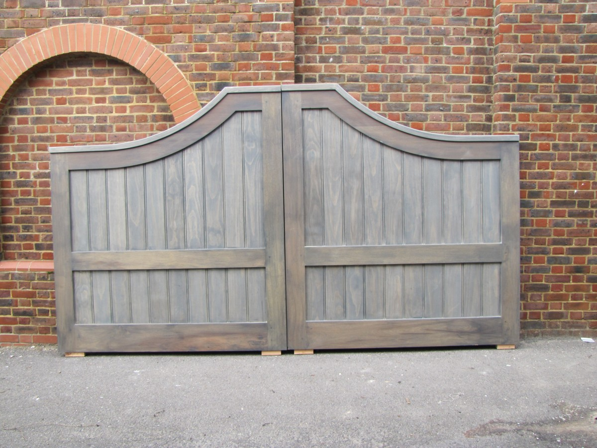 wooden gates - AA Taylor, Craftsmen Joinery in Brighton & Hove
