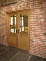 Oak Half Glazed Internal Doors
