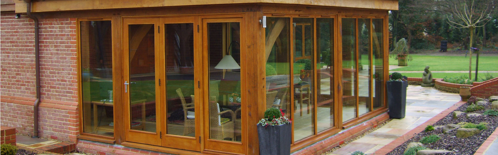 wooden conservatory from AA Taylor, Craftsmen Joinery in Brighton & Hove