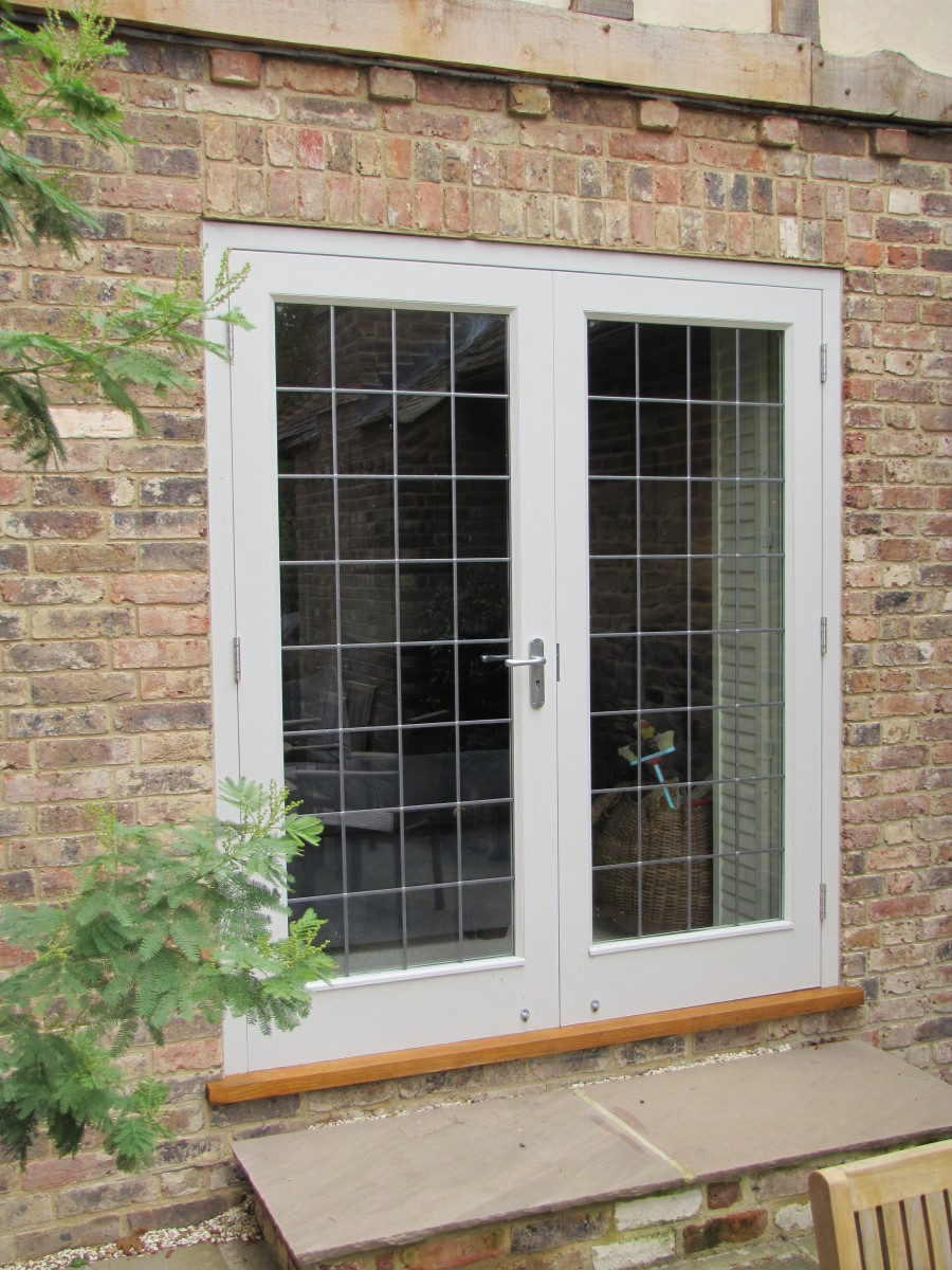 Pair Traditional French Doors