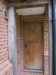 external timber doors - AA Taylor, Craftsmen Joinery in Brighton & Hove
